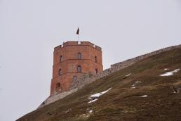 Gediminas-Turm auf dem Burgberg