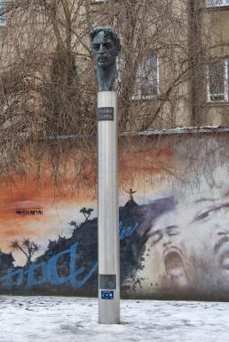 Denkmal für Frank Zappa