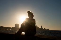 Sonnenuntergang am Malecón