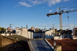 Über den Dächern von Kazimierz