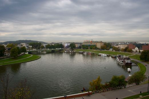 Blick vom Wawel